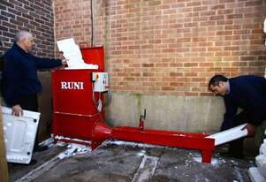 Runi EPS Compactor SCREW PRESS