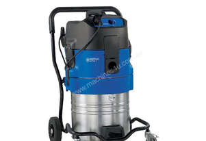 Nilfisk ATTIX 751-61 Wet Only Pump Out Industrial Vacuum complete with hose and tools