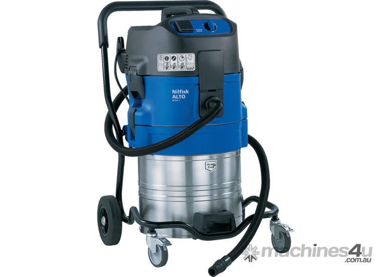 Nilfisk ATTIX 751-61 Wet Only Pump Out Industrial Vacuum