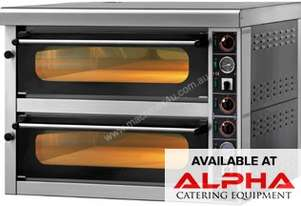 GAM MS6 High Performance Mechhanical Double Stone Deck Oven