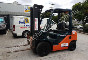 Toyota 32-8FG25 Deluxe Counterbalance forklift