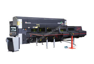 C1-AJ Punch / 3kW Fiber Laser Combination - Multiple processes on 1 machine.