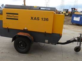 ATLAS COPCO XAS136 290CFM MOBILE DIESEL AIR COMPRESSOR - picture3' - Click to enlarge