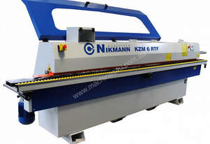 NikMann KZM6 -RTF-v12 are European made edgebanders with pre milling and corner rounder
