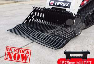 1676mm Skeleton Rock Bucket suit Bobcat skid steer