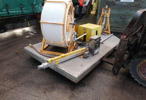 injection hose grout pushing machine , 40mm dia