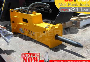 UBT20S Moil point Tool for Rock Hydraulic Hammer