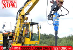 50000 MAX Auger Drive Unit. Suit 21 - 45 T Excavators ATTAGT