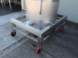 Stainless Steel Tapered Tank - picture8' - Click to enlarge