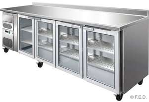 F.E.D. CM25G TROPICALISED four door Bar Fridge