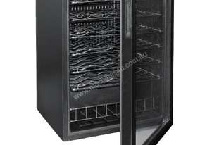 Polar Wine Cooler 47 bottles (Mechanical) Glass Door Metal Racks