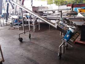 Tubular Screw Conveyor, 100mm Dia x 2800mm L - picture0' - Click to enlarge