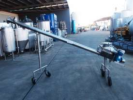 Tubular Screw Conveyor, 100mm Dia x 2800mm L - picture3' - Click to enlarge
