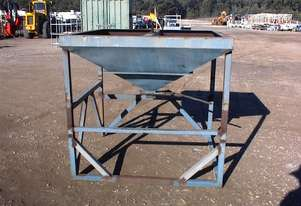 Feed bin suit filling bags etc.
