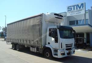 Iveco Eurocargo ML225 Curtainsider Truck