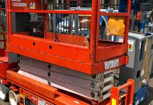 USED SNORKEL 19FT ELECTRIC SCISSOR LIFT