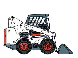 A770 All Wheel Steer Loader - picture2' - Click to enlarge