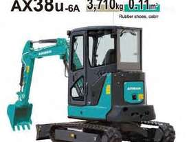 4.0 Tonne Excavator with Buckets & Ripper for HIRE - picture8' - Click to enlarge