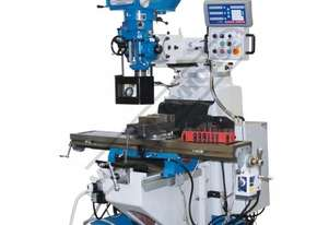 BM-52VE Turret Milling Machine (X) 865mm (Y) 420mm (Z) 400mm Includes Digital Readout, Vice & Clamp