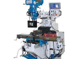 BM-52VE Turret Milling Machine (X) 865mm (Y) 420mm (Z) 400mm Includes Digital Readout, Vice & Clamp  - picture0' - Click to enlarge