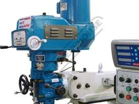 BM-52VE Turret Milling Machine (X) 865mm (Y) 420mm (Z) 400mm Includes Digital Readout, Vice & Clamp  - picture2' - Click to enlarge