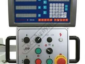 BM-52VE Turret Milling Machine (X) 865mm (Y) 420mm (Z) 400mm Includes Digital Readout, Vice & Clamp  - picture3' - Click to enlarge