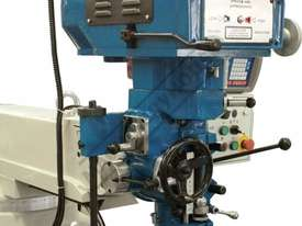BM-52VE Turret Milling Machine (X) 865mm (Y) 420mm (Z) 400mm Includes Digital Readout, Vice & Clamp  - picture12' - Click to enlarge