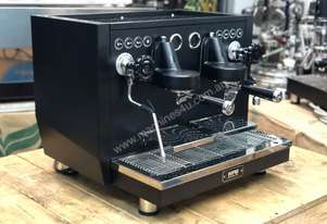 WPM KD-510 2 GROUP ESPRESSO COFFEE MACHINE - MATTE BLACK CAFE RESTAURANT