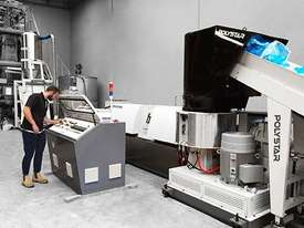 Plastic Film Recycling Machine 2018 Model POLYSTAR - picture0' - Click to enlarge