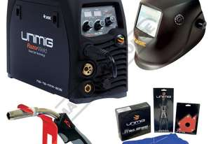 RAZORWELD 205SS MTS DC INVERTER Multi-Function Welder-MIG/TIG/MMA Package Deal 30-200 Amps - Smart P