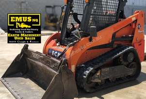 2012 ECM ETL 160.4 Track Skid Steer, only 1542hrs,