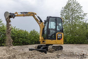 CATERPILLAR 301.8 MINI EXCAVATOR with 1.99% finance