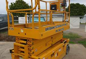32ft Electric Scissor Lift 10 metres