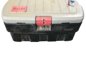 Rubbermaid 132.4 Ltr  Rugged Storage Action Packer Lockable Toolbox
