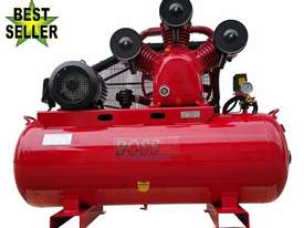 BOSS 52CFM/10HP Workshop Air Compressor 300L Tank (Clearance SALE- Minor Paint Damage)  - picture0' - Click to enlarge