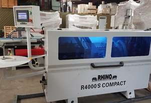X SHOWROOM R4000S COMPACT EDGEBANDER 2019 YOM INCL. 2 BAG DUST COLLECTOR