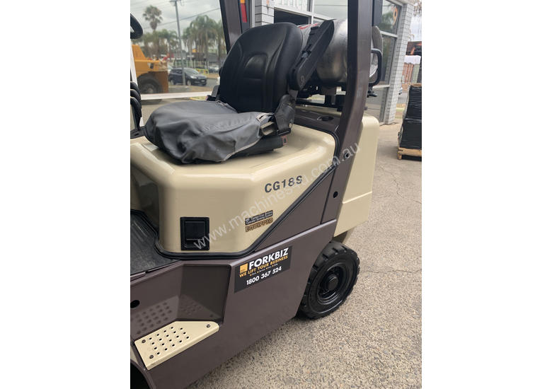 CROWN CG18S LPG FORKLIFT RECENTLY PAINTED