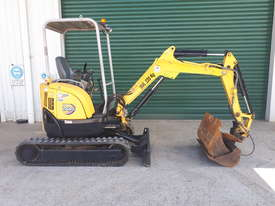 2 Tonne Yanmar Excavator With Quick Hitch & Tilting Mud Bucket - picture0' - Click to enlarge