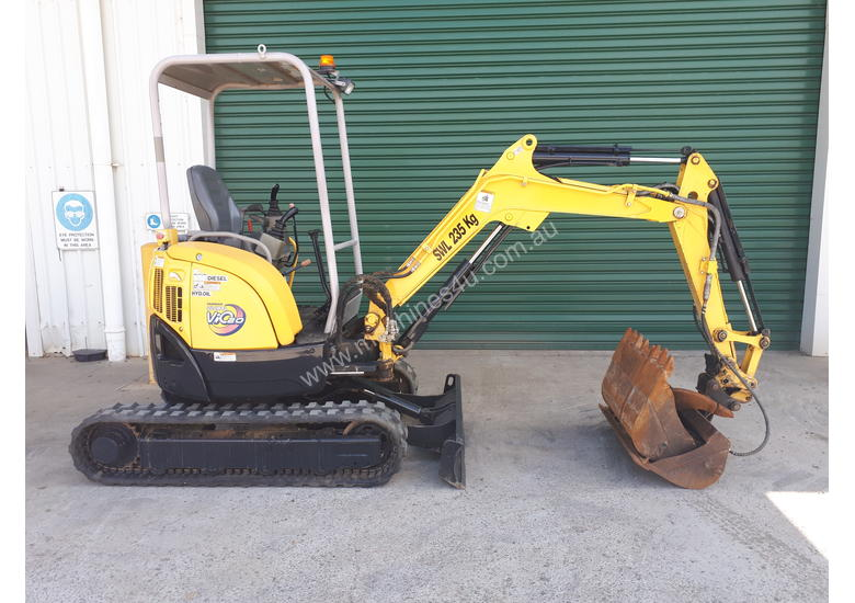 2 Tonne Yanmar Excavator With Quick Hitch & Tilting Mud Bucket