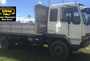 1991 Mitsi Single Axle Tipper Truck. E.M.U.S. TS547