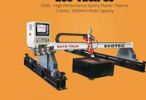 STEELMASTER ECO-TECH G3 - 3500 – High Performance Gantry Flame / Plasma Combo. 3000mm Wide Capacity,