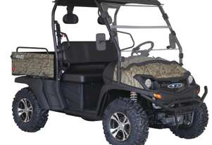 Cyclone 450 X4 2WD/4WD Utility Vehicle With Windscreen, Roof, Alloy Wheels & Digital Display