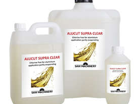 Superior clear cutting fluid suitable for all CNC machining centres - Mitre Saws & Copy-Routers  - picture0' - Click to enlarge