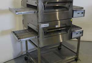 Lincoln 1154-2 2 Deck Conveyor Oven