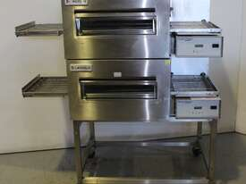 Lincoln 1154-2 2 Deck Conveyor Oven - picture0' - Click to enlarge