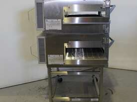Lincoln 1154-2 2 Deck Conveyor Oven - picture1' - Click to enlarge
