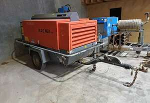 XAS-375 , 2300 hrs , 2010 model , air after cooled with water trap ,