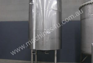 Stainless Steel Jacketed Mixing Capacity 3,500Lt.