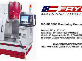 Fryer -  MC-E Series   Economical Machine Centre - picture0' - Click to enlarge
