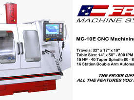 Fryer -  MC-E Series   Economical Machine Centre - picture1' - Click to enlarge